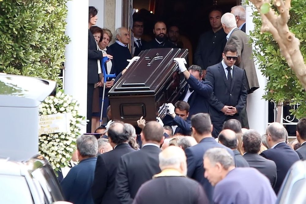 Tο τελευταίο αντίο στον Ανδρέα Βγενόπουλο (photos)