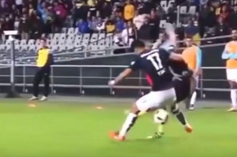 Όταν οι ποδοσφαιριστές ξεφτιλίζουν τους συναδέλφους τους (video)