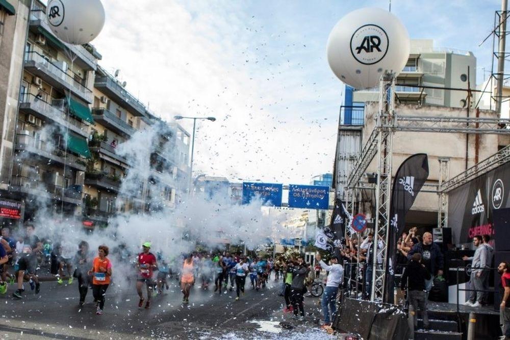 H adidas στήριξε για άλλη μια χρονιά τον Αυθεντικό Μαραθώνιο της Αθήνας
