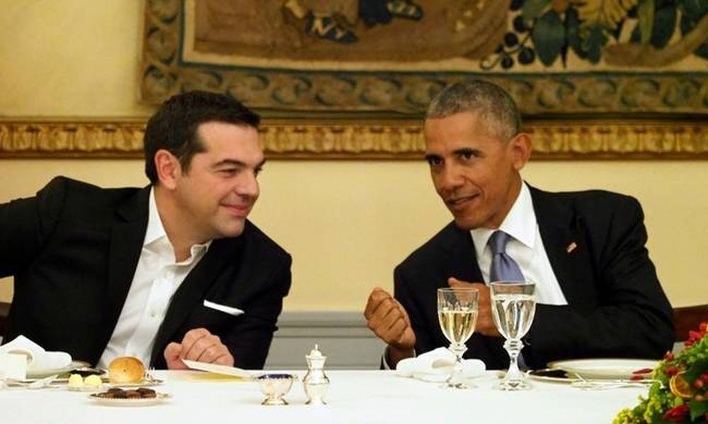 Επίσκεψη Ομπάμα: Πανηγυρίζει το Μαξίμου που ο Ομπάμα αποκάλεσε τον Τσίπρα «Αλέξη»