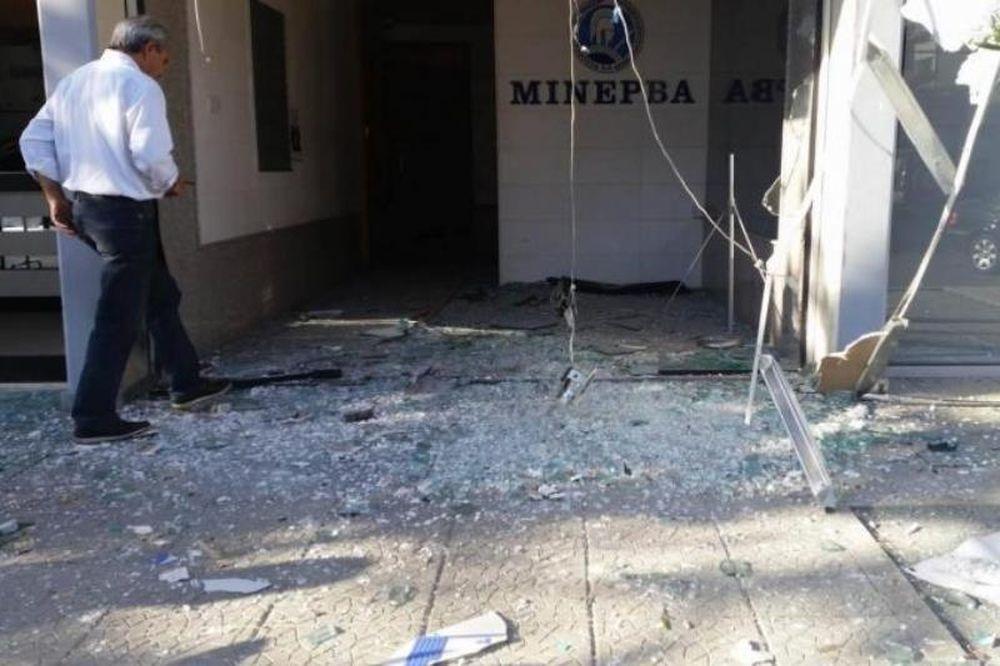 Έβαλαν βόμβα στα γραφεία του Κουτσοκούμνη (video)