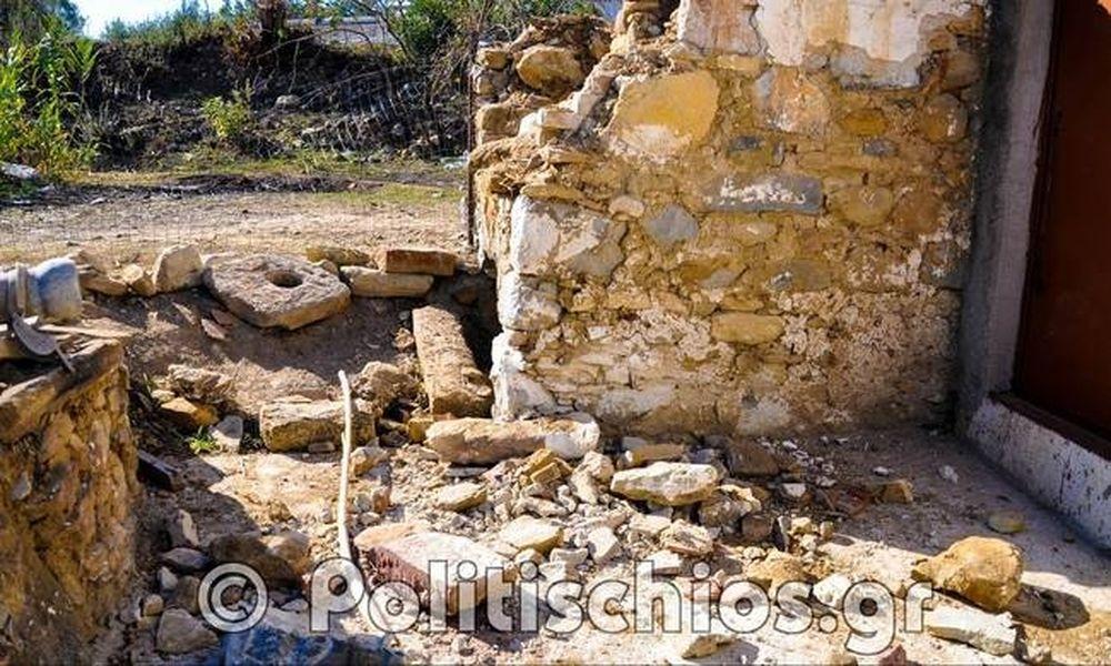 Χίος: «Νεκρή ζώνη» τα κτήματα γύρω από το hot spot