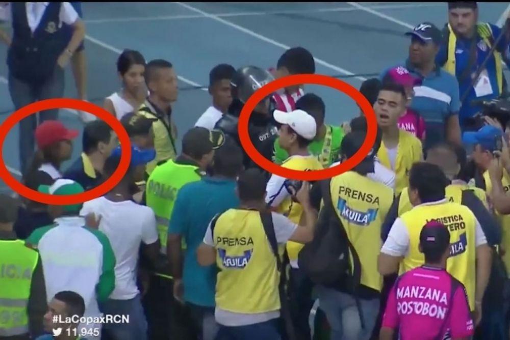 Κολομβία: Γυναίκα οπαδός πήγε να μαχαιρώσει ποδοσφαιριστή! (video)