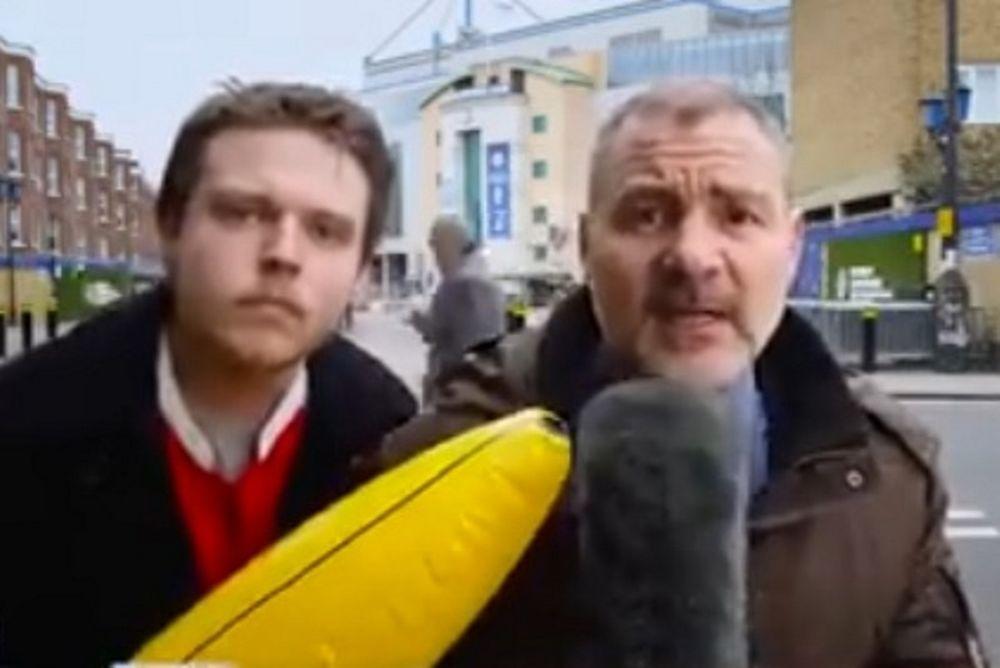 Μην διακόπτεις ποτέ τον σχολιαστή στη ζωντανή μετάδοση (video)