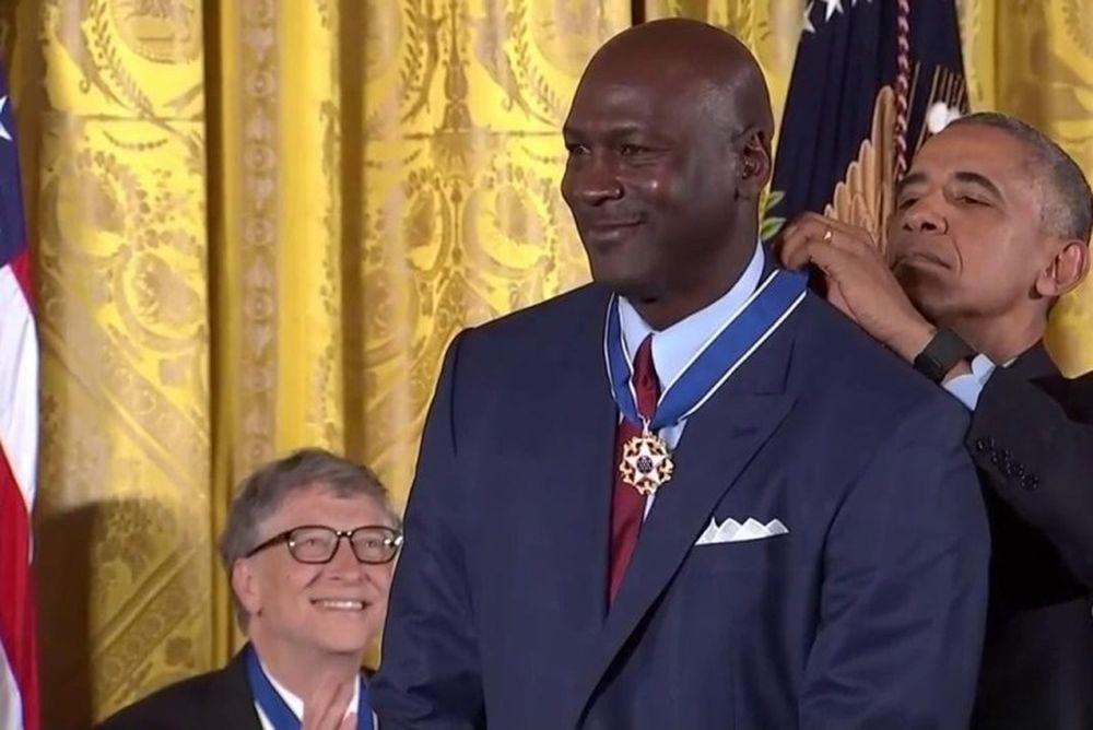 Τζόρνταν και Τζαμπάρ τιμήθηκαν από τον Ομπάμα με το Μετάλλιο της Ελευθερίας