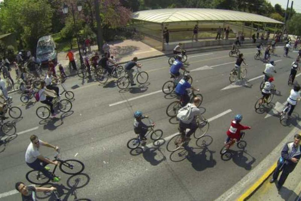 Ποδηλατική εξόρμηση στο Θησείο την Κυριακή