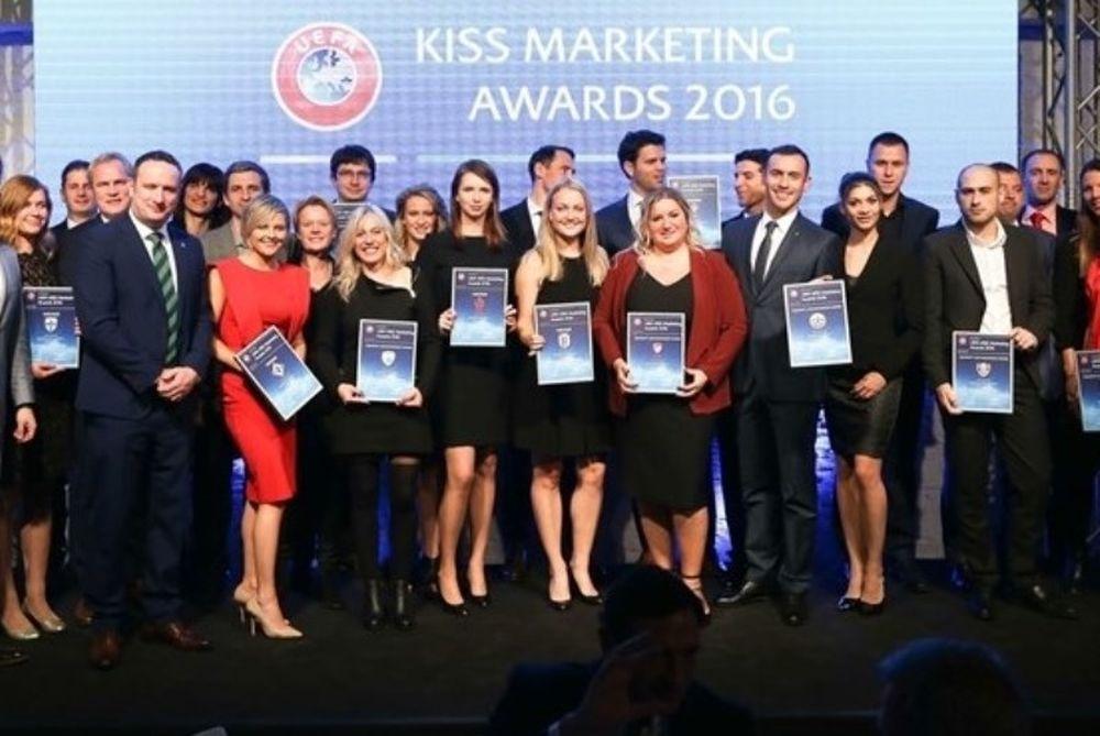 Τα βραβεία marketing της UEFA