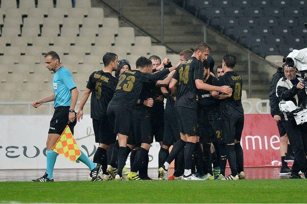 ΑΕΚ – Πλατανιάς 3-0: Ο Μάνταλος έδωσε τη λύση