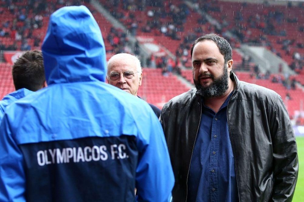 Ολυμπιακός: Στα αποδυτήρια ο Μαρινάκης, κατσάδα στους παίκτες!