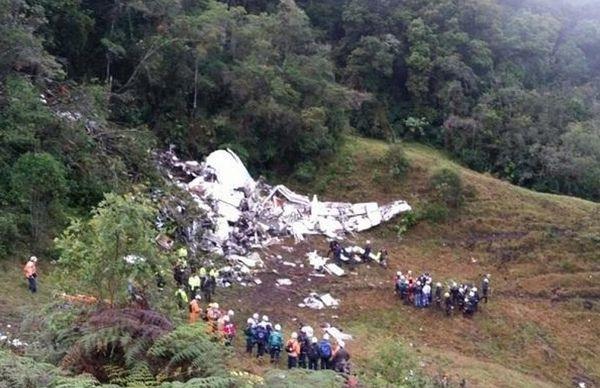 Κολομβία-τραγωδία: Έξι διασωθέντες εκ των οποίων τρεις ποδοσφαιριστές