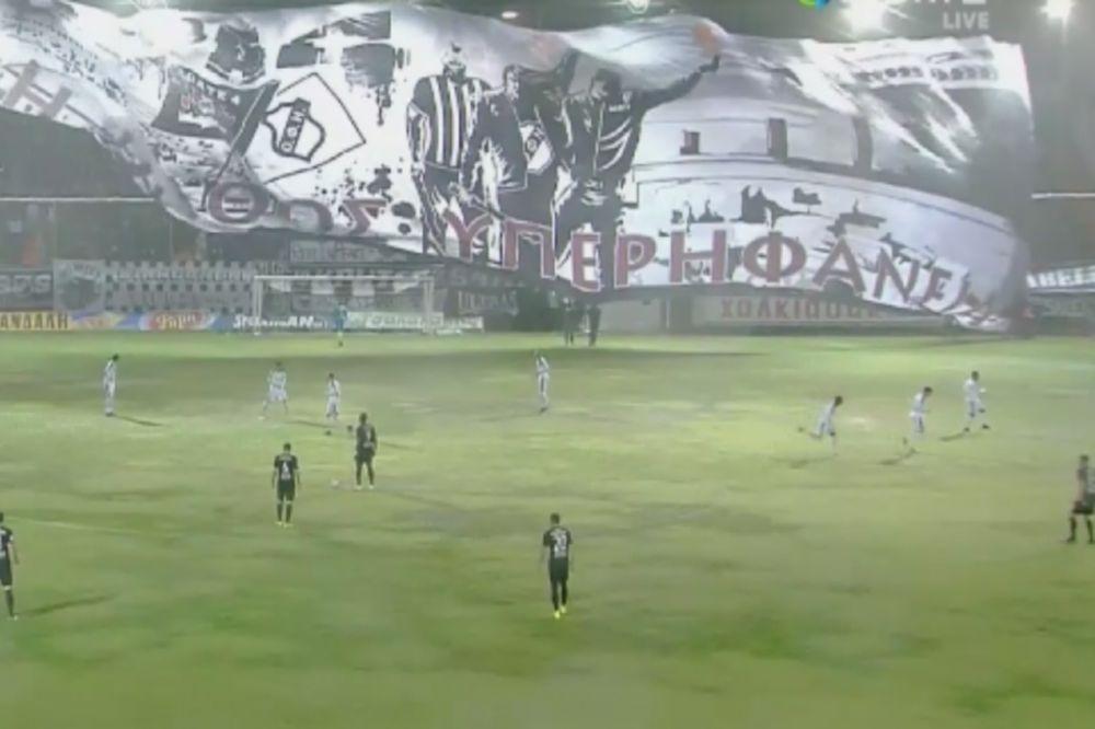 Το γιγαντιαίο πανό των οπαδών του ΟΦΗ (photo)