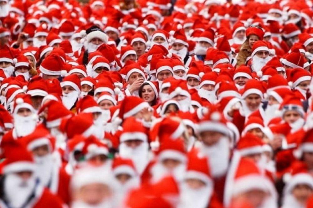 Το Santa Run κλείνει το κέντρο της Αθήνας!