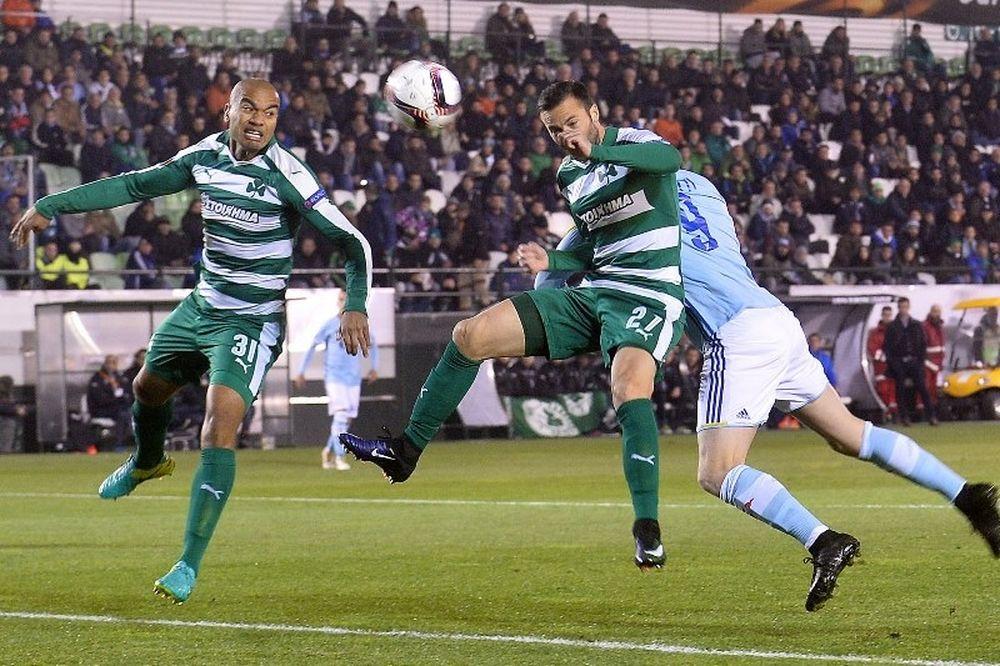 Παναθηναϊκός - Θέλτα 0-1: Το γκολ του Γκουιντέτι (video)