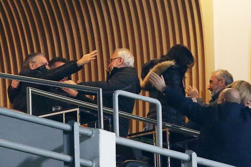 ΠΑΟΚ: Πανηγύρισε έξαλλα την πρόκριση ο Σαββίδης (photos)