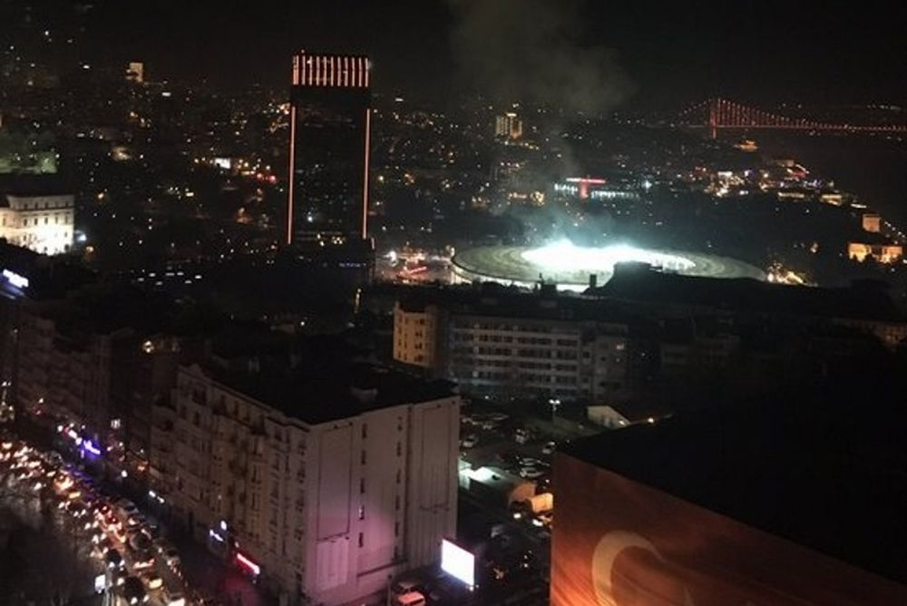 Συναγερμός στην Πόλη: Ισχυρές εκρήξεις κοντά στο γήπεδο της Μπεσίκτας! (video)