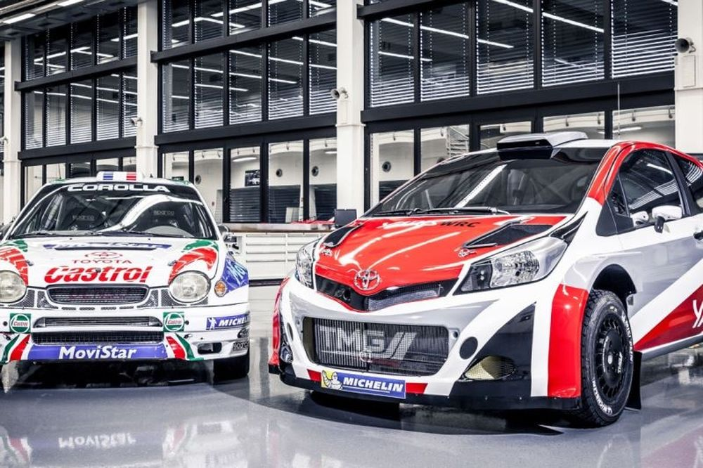 WRC: Οι Λάτβαλα και Χάνινεν στην Toyota