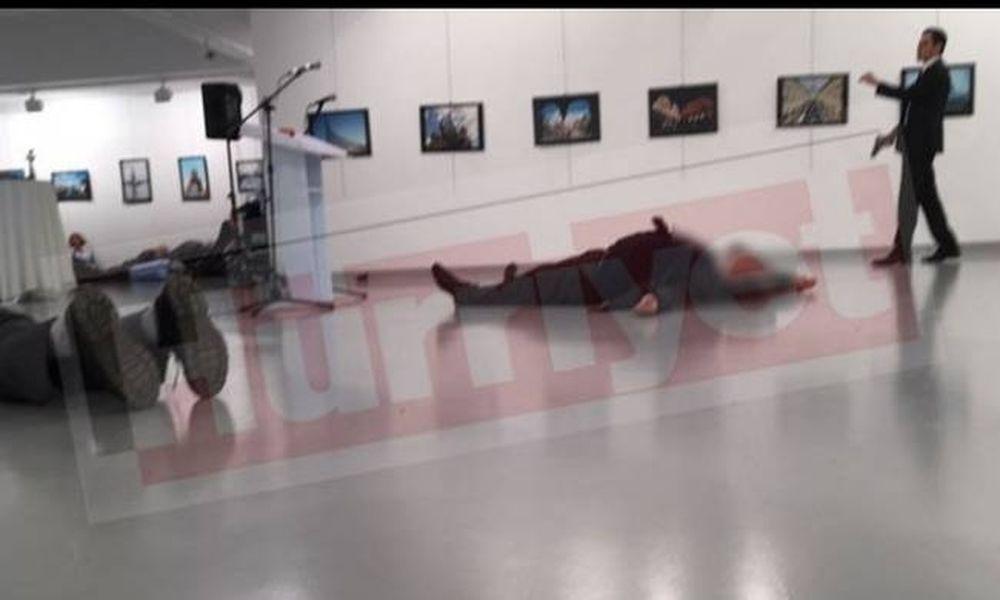 Δολοφονική επίθεση κατά του πρέσβη της Ρωσίας στην Άγκυρα (videos)