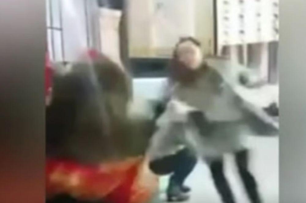Αρκούδα επιτέθηκε σε δημοσιογράφο (vid)