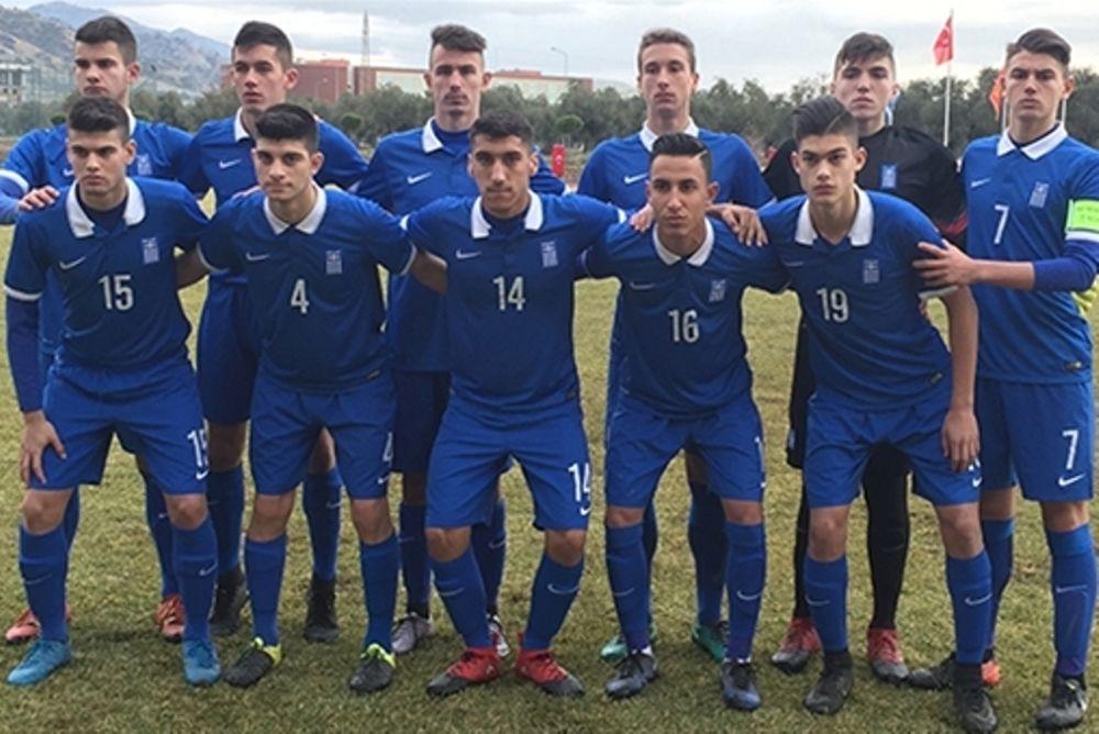 Εθνική Παίδων: Στον τελικό του Aegean Cup 2017 η «γαλανόλευκη»