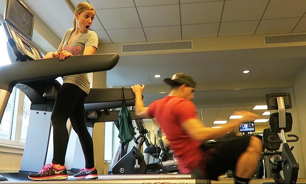 Epic fails: Απίστευτες τούμπες σε διαδρόμους γυμναστηρίου