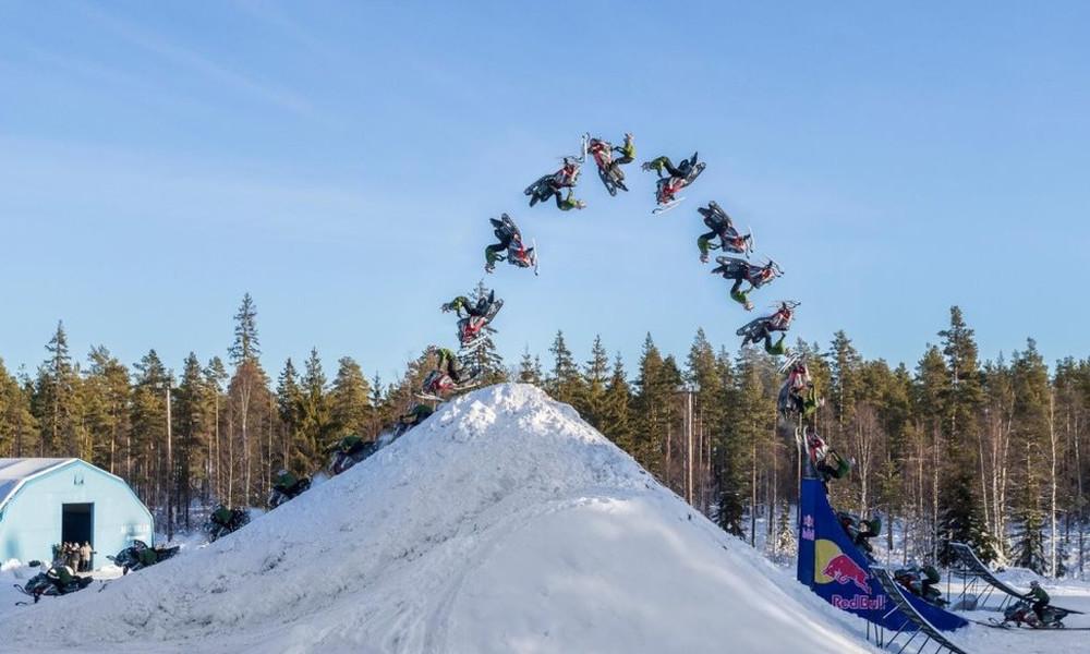 Το πρώτο double backflip με snowmobile είναι γεγονός (video)