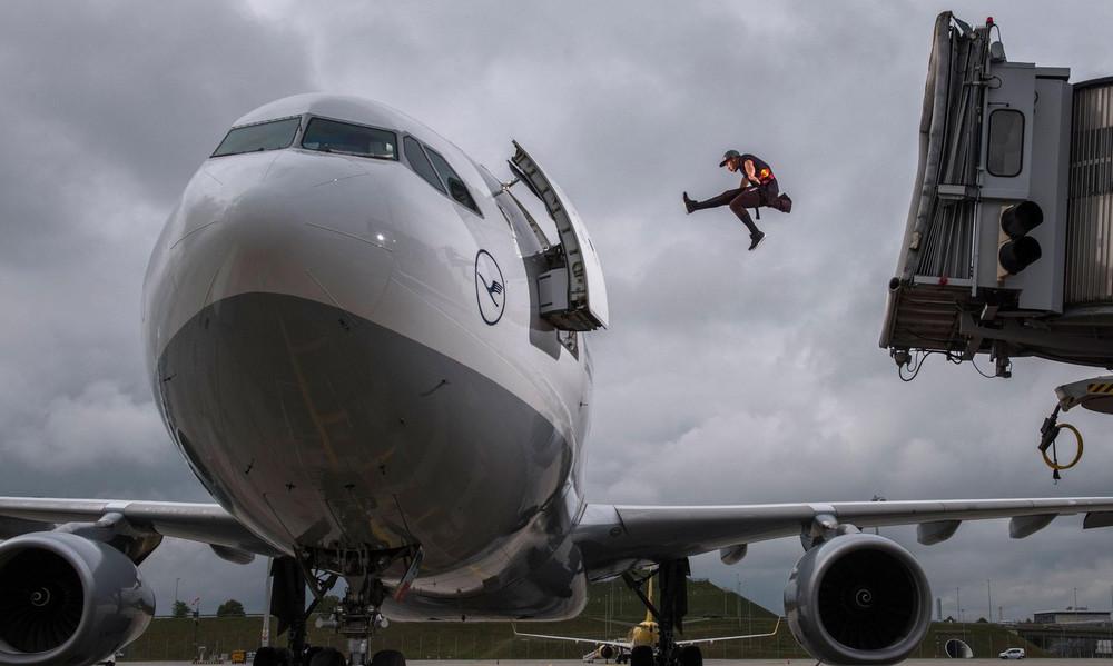 Extreme σκηνικά στο αεροδρόμιο του Μονάχου!