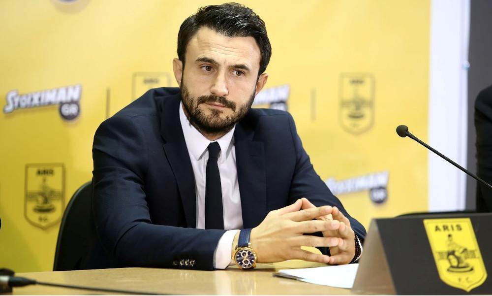 Καρυπίδης: «Ο Άρης θα είναι Super League ότι κι αν γίνει!»