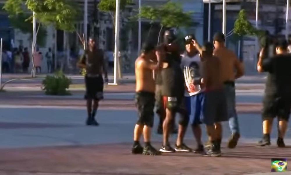 Άγριο ξύλο και νεκρός οπαδός σε επεισόδια στη Βραζιλία