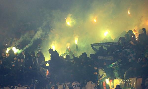 Στο Πειθαρχικό της UEFA η Σεντ Ετιέν για τη συμπεριφορά των οπαδών της