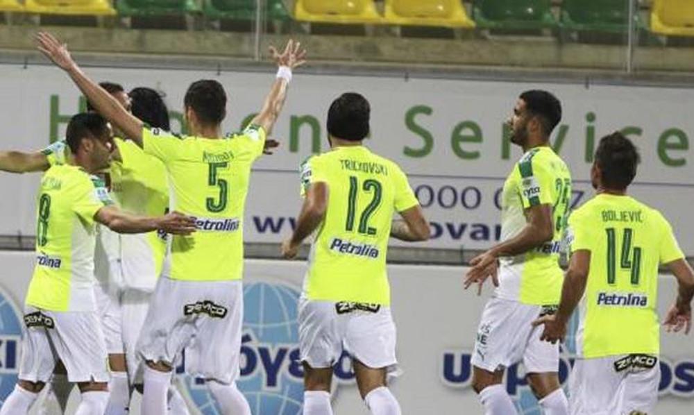 «Σκαρφάλωσε» δεύτερη η ΑΕΚ Λάρνακας