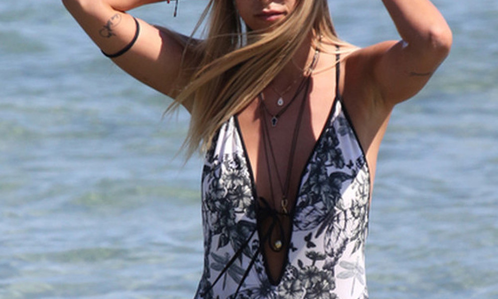 Η τολμηρή ξανθιά Ελληνίδα που μας «απογείωσε»! (pics)