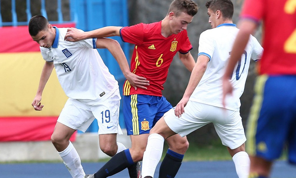 Εθνική Παίδων: Αποκλεισμός από το Ευρωπαϊκό Πρωτάθλημα