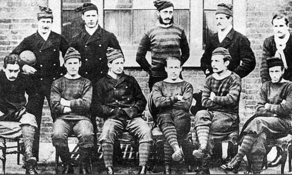 Ο πρώτος Τελικός στην ιστορία του ποδοσφαίρου
