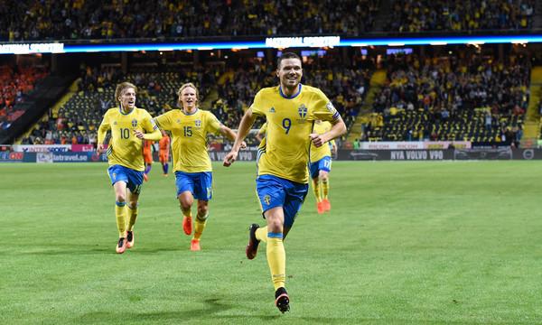 Με πέναλτι που κέρδισε ο Μπεργκ προηγείται η Σουηδία