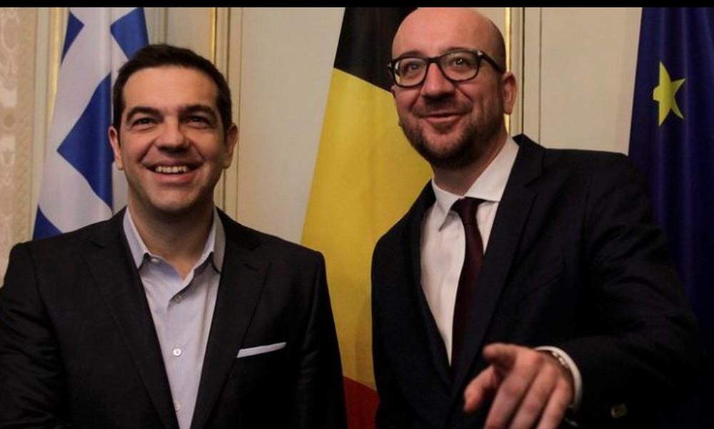 Τσίπρας και Μισέλ βλέπουν μαζί τον αγώνα Ελλάδα - Βέλγιο!