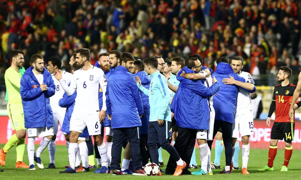 Βέλγιο-Ελλάδα 1-1: Με τέτοια... διαπραγμάτευση περνάμε!