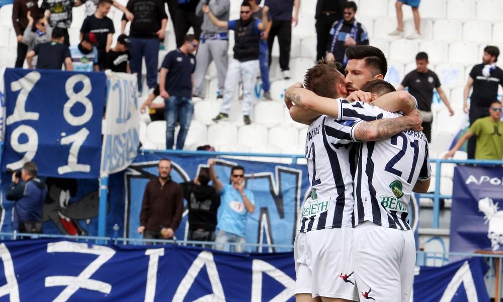 Απόλλων Σμύρνης-Αιγινιακός 4-1: Έτσι «πάτησε» τον Αιγινιακό για Super League (video)