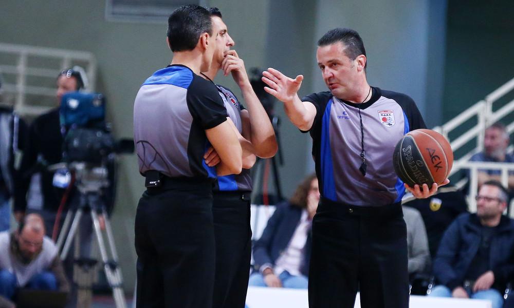 Με Έλληνες διαιτητές το Final four του FIBA Champions League
