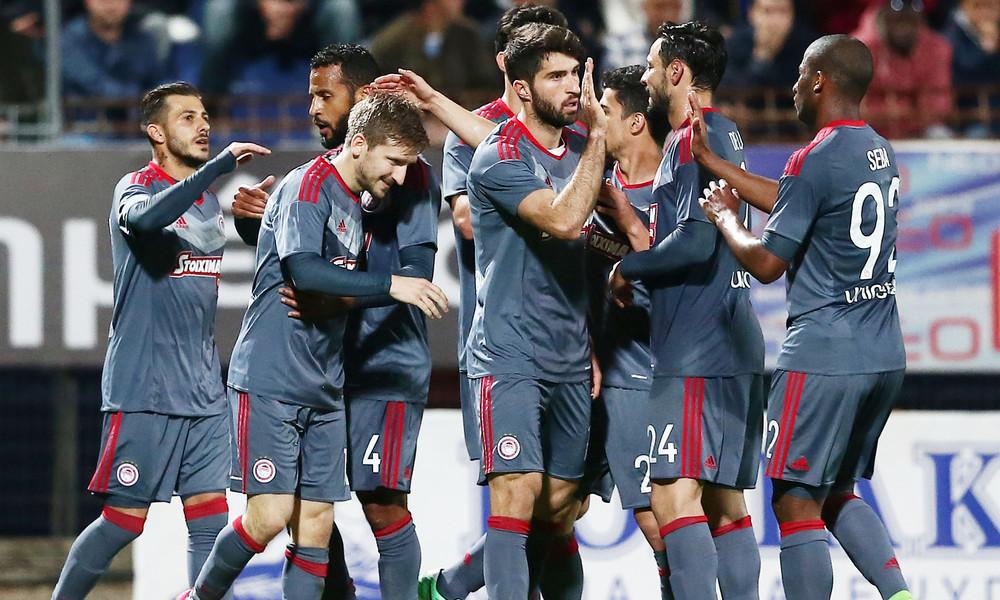 Κέρκυρα-Ολυμπιακός 0-2: Έκανε βόλτα... τίτλου στο νησί