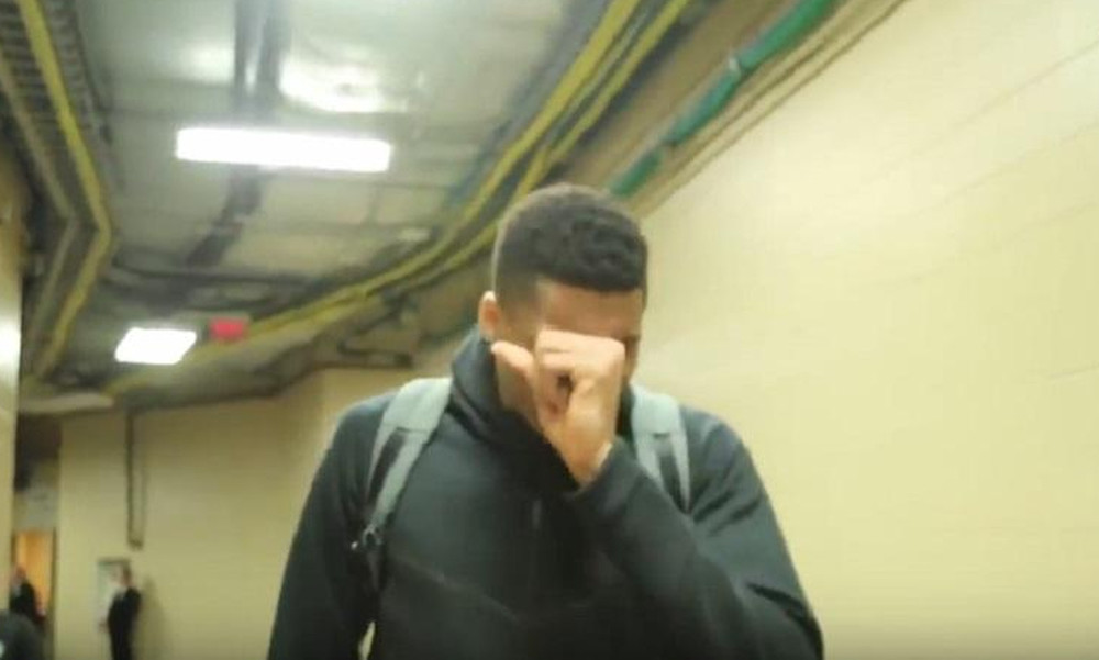Συγκλονιστικό βίντεο: Δάκρυσε ο Giannis!