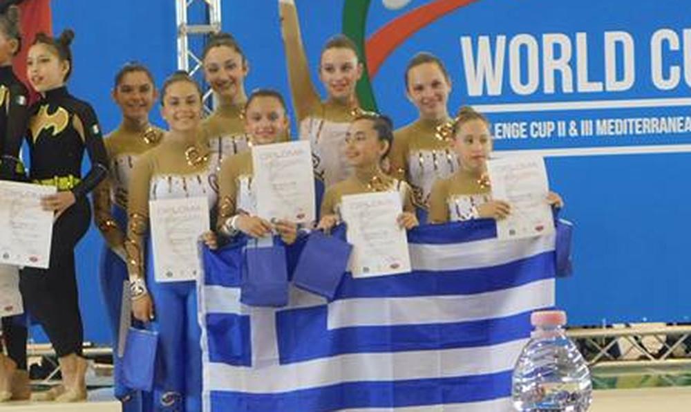 Σάρωσαν στα μετάλλια οι αθλήτριες του «ΠΥΡΡΟΥ» στους παγκόσμιους αγώνες αισθητικής γυμναστικής!