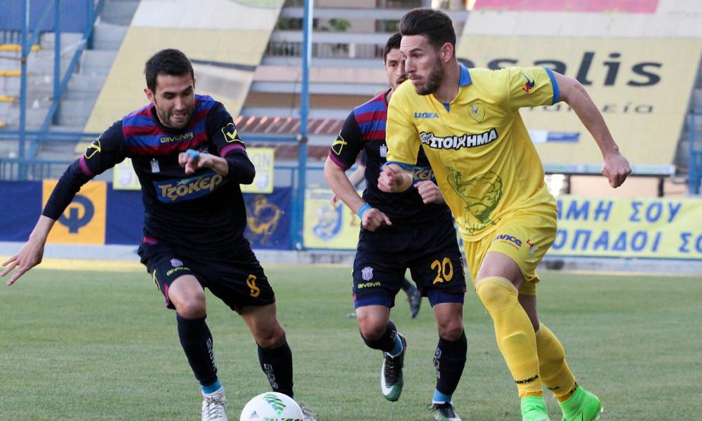 Παναιτωλικός - Βέροια 1-0: Στην Football League η Βέροια