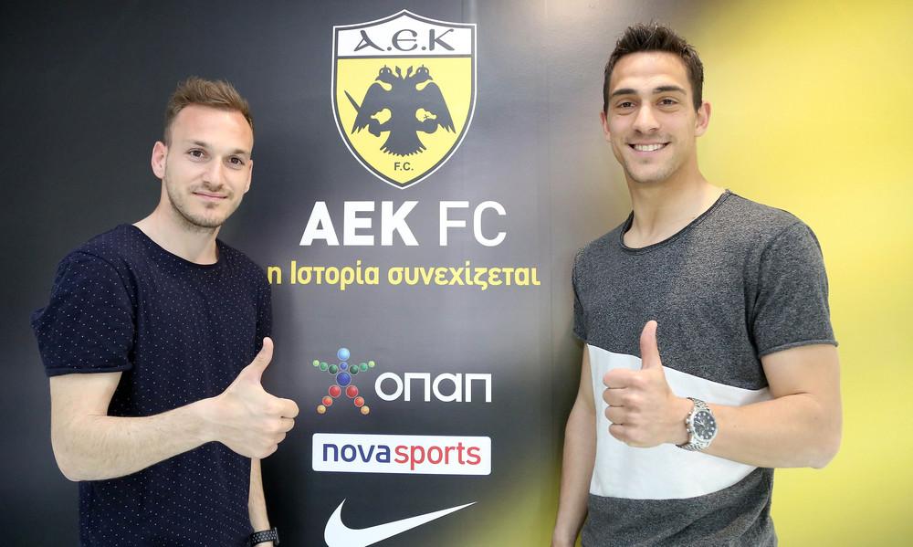 Έτσι έμειναν στην ΑΕΚ Μπακάκης και Λαμπρόπουλος