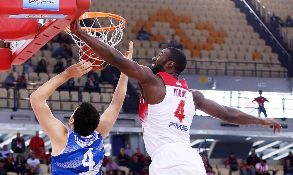 Ολυμπιακός - Κύμη 93-45: Προπόνηση πριν τα playoffs της Euroleague