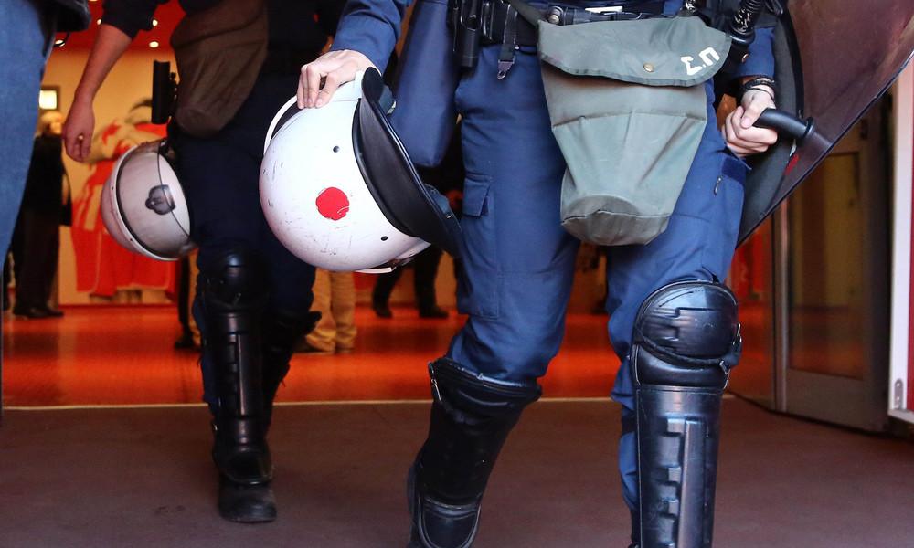 Ένταση οπαδών με αστυνομία
