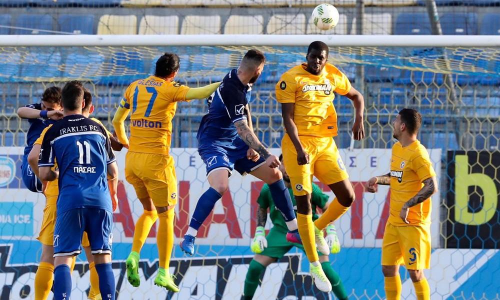 Αστέρας Τρίπολης-Ηρακλής 2-2: Να φύγει και να μην ξανάρθει!