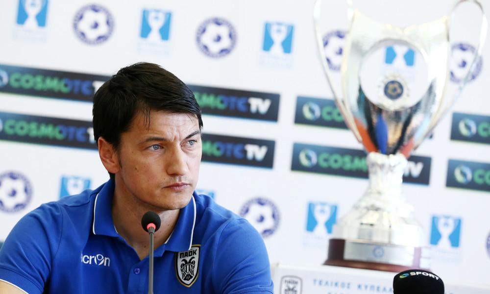 Τελικός Κυπέλλου: Ίβιτς: «Κανένα φαβορί, θέλουμε την κούπα»