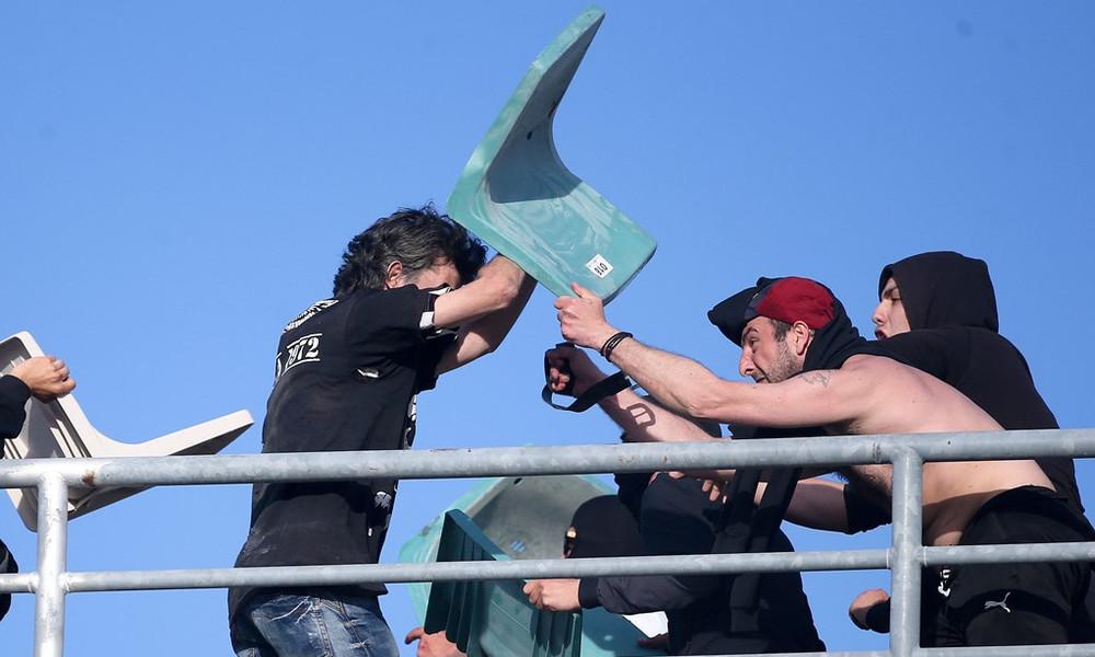 ΠΑΟΚ-ΑΕΚ: Μαχαιρώθηκε οπαδός στο Πανθεσσαλικό!