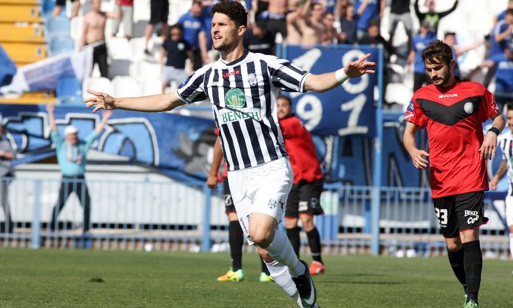 Απόλλων Σμύρνης - Πανελευσινιακός 3-0: Γκολ και φάσεις