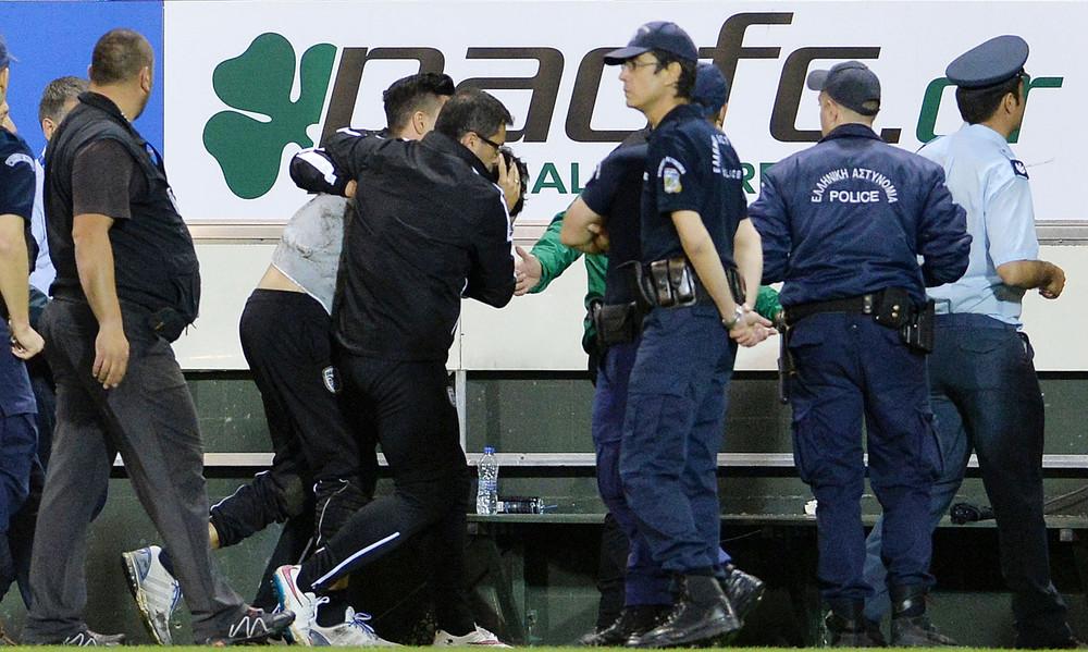 Παναθηναϊκός-ΠΑΟΚ: Στο νοσοκομείο ο Ίβιτς - Τραυματίστηκε στο κεφάλι (photos)